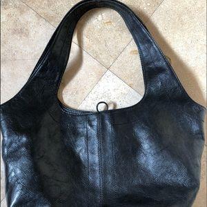 Stuart Weitzman Bags - Stuart Weitzman black leather purse